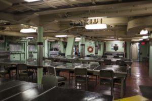 mess hall on battleship