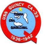 USS Quincy logo